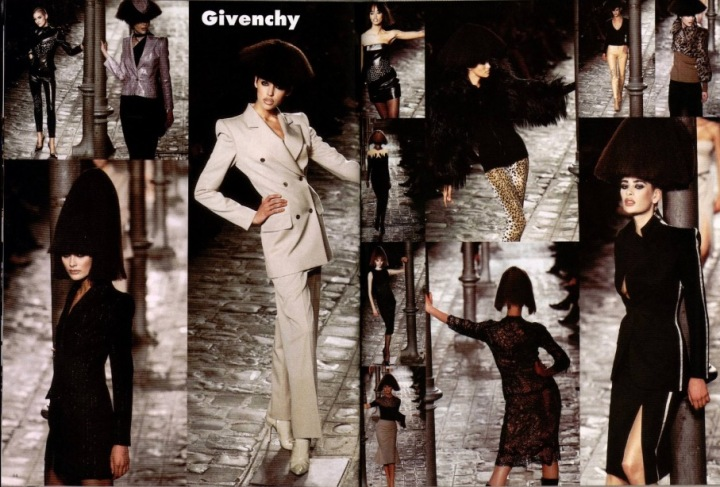 Lady Leopard? Givenchy Fall 1997 ready-to-wear by Alexander McQueen