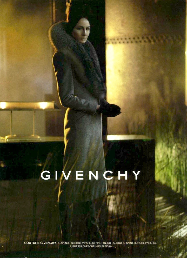 Givenchy Fall 1998 ad campaign shot by Steven Meisel