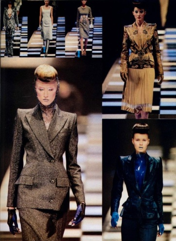Givenchy Fall 1998 ready-to-wear by Alexander McQueen