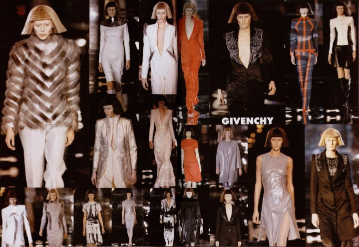 Givenchy Fall 1999 ready-to-wear by Alexander McQueen