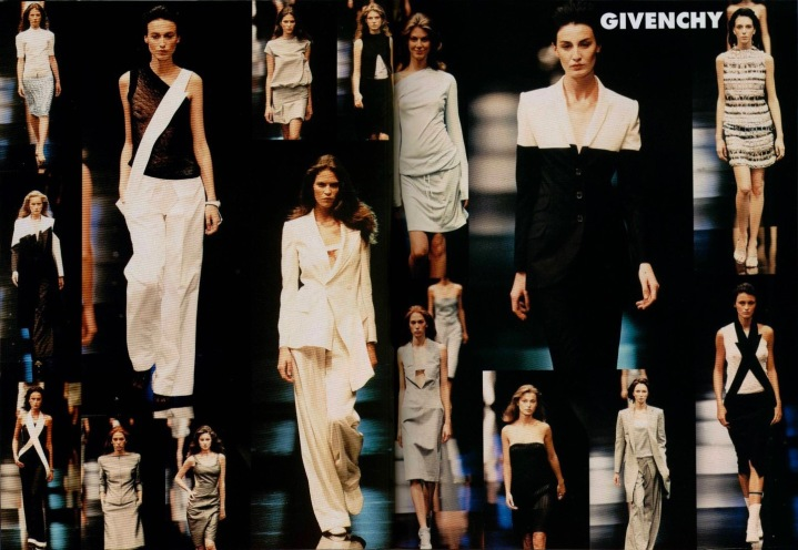 Givenchy Spring 1999 ready-to-wear by Alexander McQueen