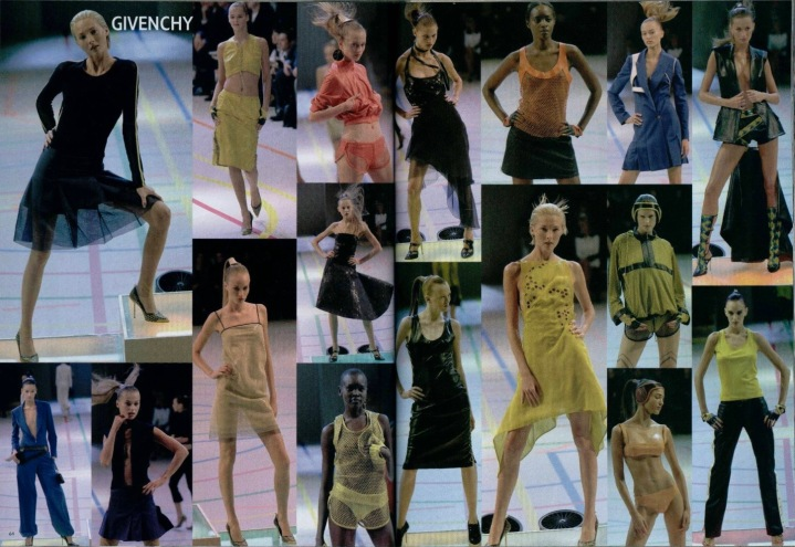 Givenchy Spring 2000 ready-to-wear by Alexander McQueen