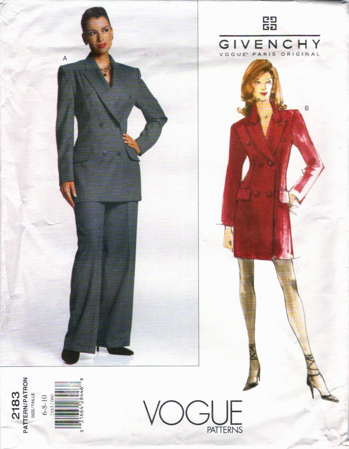 Alexander McQueen for Givenchy: Vogue Patterns, Part 1 ...