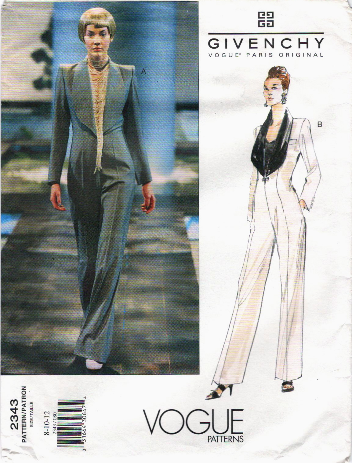 Alexander McQueen for Givenchy: Vogue Patterns, Part 2 ...