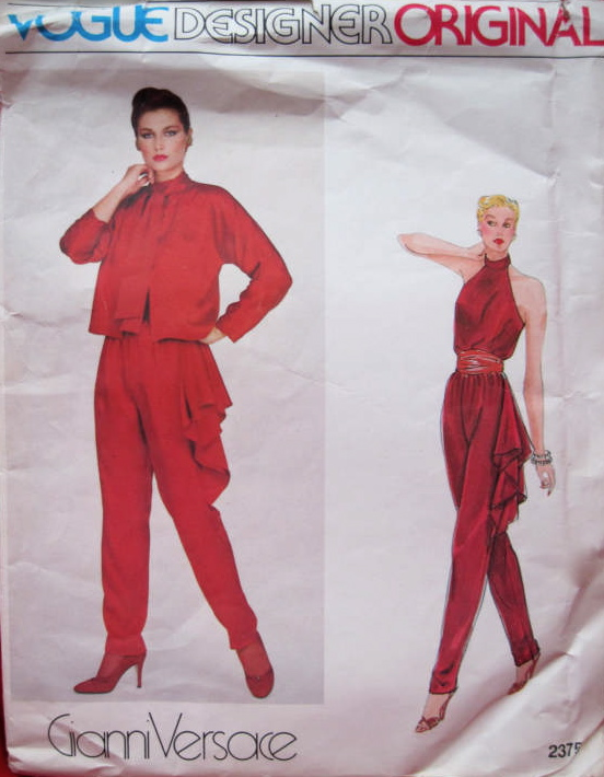 Vogue 2375 by Gianni Versace (1980)