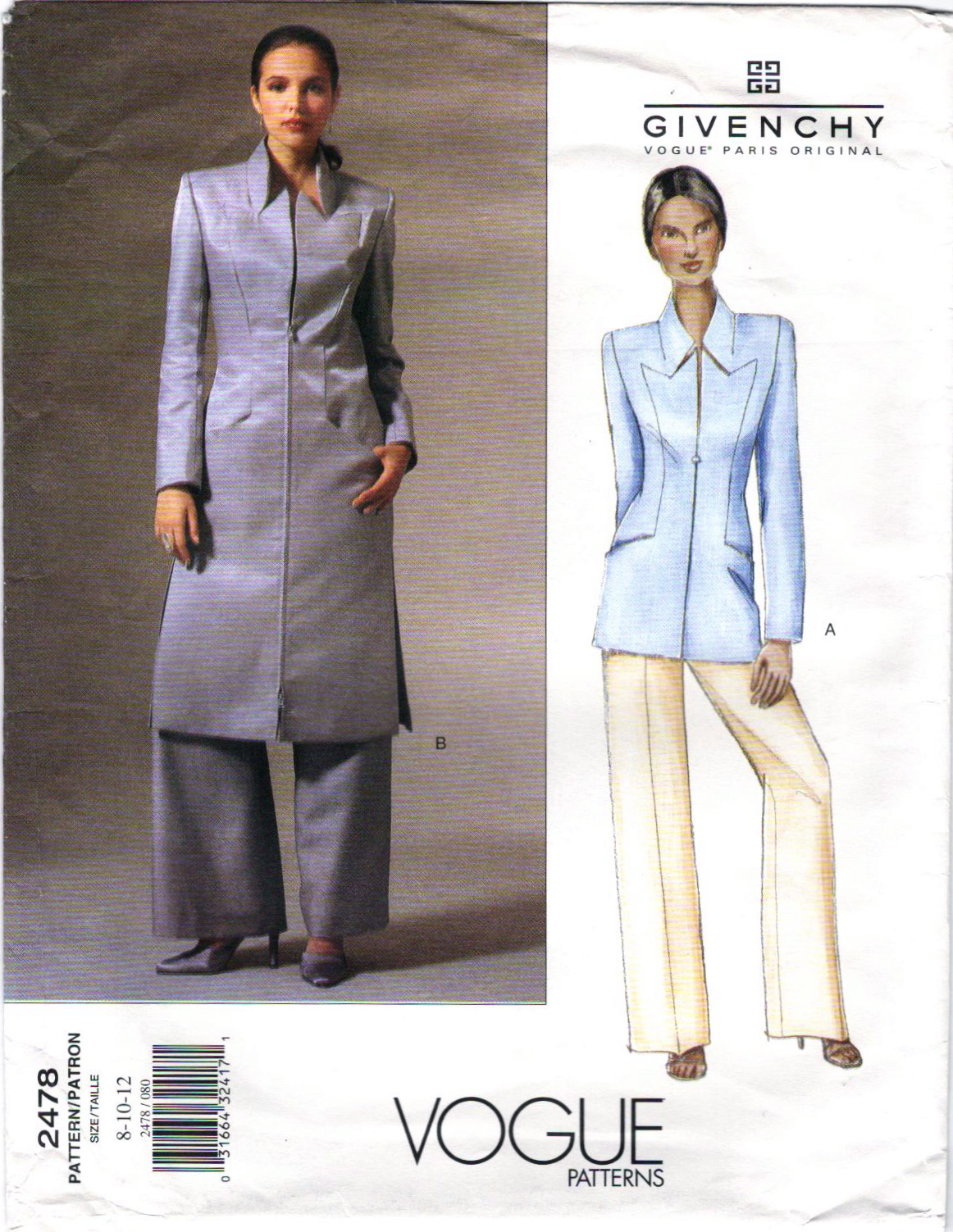 Alexander McQueen for Givenchy: Vogue Patterns, Part 3 ...