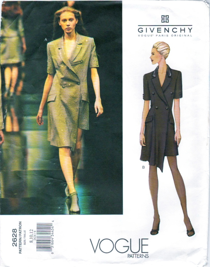 Givenchy by Alexander McQueen pattern Vogue 2628 Colette Pechekhonova