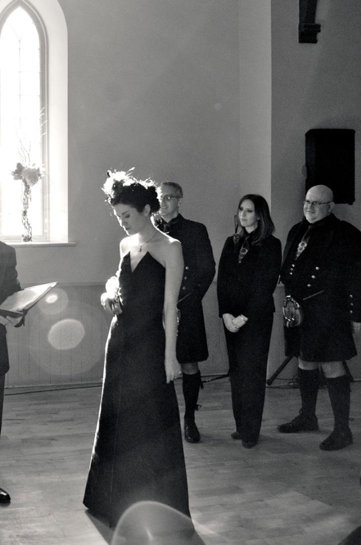 Vogue 1894 by Yves Saint Laurent - wedding ceremony