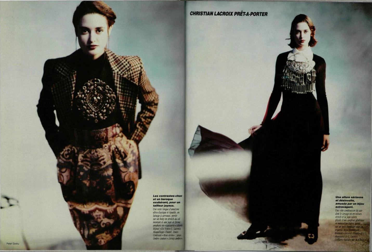 Fashion Designer Christian Lacroix