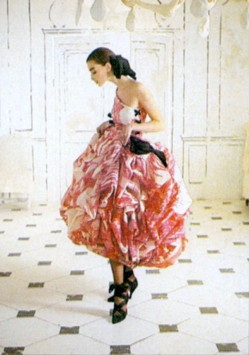Christian Lacroix couture cocktail dress for Jean Patou Spring-Summer 1987