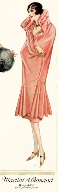 McCall 4455 Martial et Armand wrap pattern Summer 1926 McCall catalog