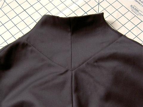 McCall 4459 collar yoke 1920s cape pattern Miler Soeurs