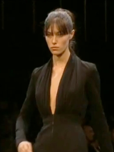 Runway version of Vogue V2937 by Guy Laroche Herve Leger Herve L Leroux