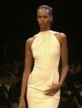 Runway version of Vogue V2899 by Guy Laroche Herve Leger Herve L Leroux