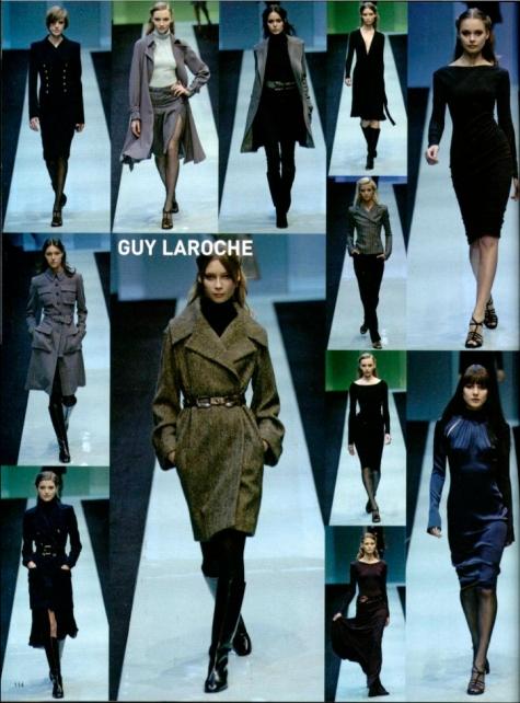 L'Officiel 1000 modeles number 53 (2005) Guy Laroche Herve Leger Herve L Leroux
