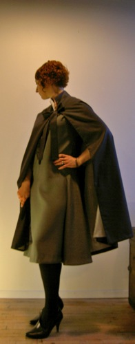 Miler Soeurs 1920s designer cape pattern McCall 4459