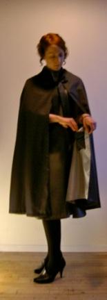 pockets Miler Soeurs 1920s designer cape pattern McCall 4459