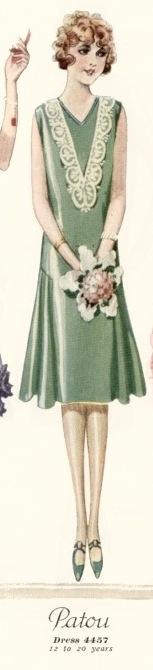 McCall 4457 1920s Patou dress pattern McCall Quarterly Summer 1926