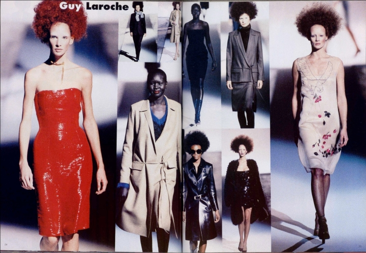 Alber Elbaz for Guy Laroche FW RTW 1998-99