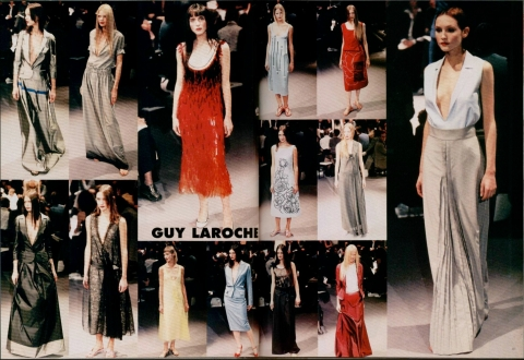 Alber Elbaz for Guy Laroche SS RTW 1999