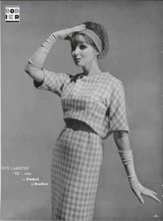 Guy Laroche dress 1959 photo