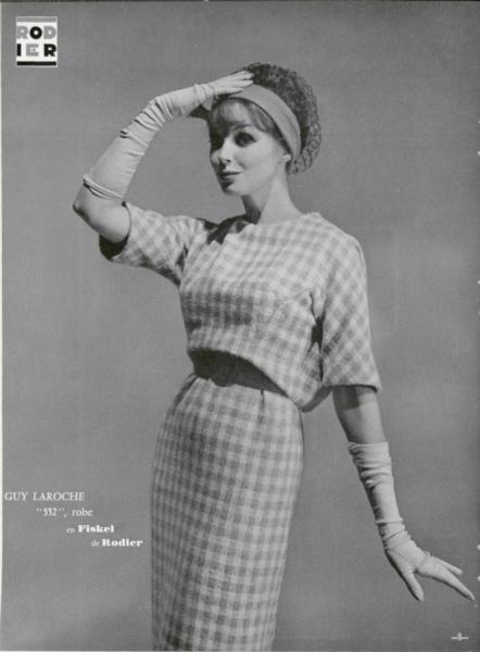 Guy Laroche dress 1959 photo