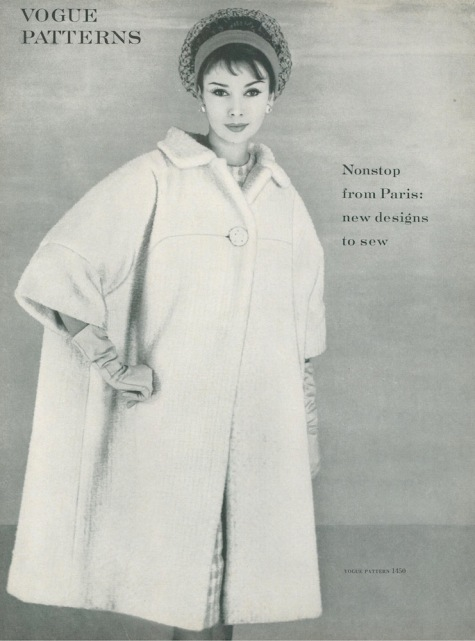 Laroche pattern Vogue 1450 photographed for Vogue magazine, May 1959