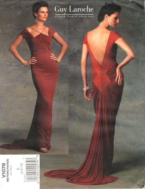 Vogue 1078 by Damian Yee for Guy Laroche