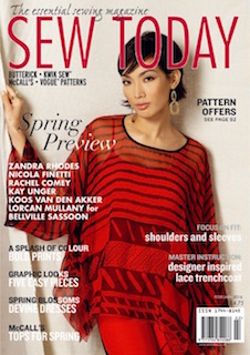 sew today Feb 2016 cover