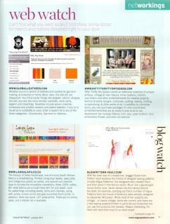 Vogue Patterns magazine web watch blog watch June/July 2012