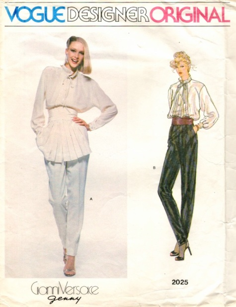 1970s Gianni Versace for Genny pattern Vogue 2025