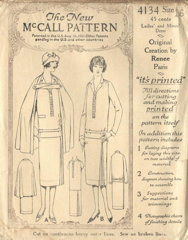 Caped Crusaders: Vintage Cape Patterns | PatternVault