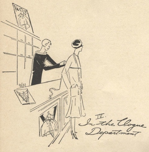 IV. In the Vogue Department - Vogue's Book of Practical Dressmaking, 1926