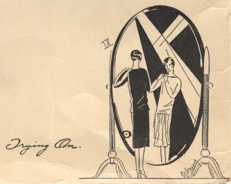 IX. Trying On - Vogue's Book of Practical Dressmaking, 1926