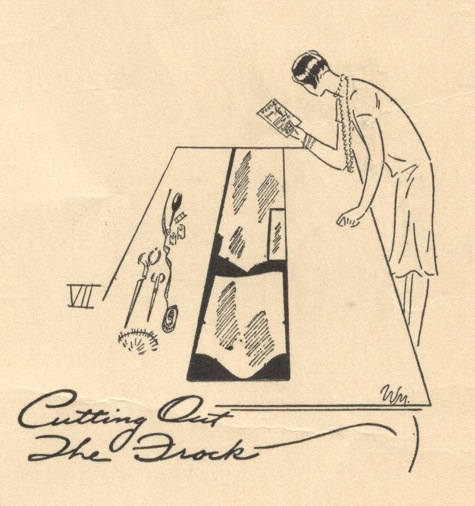 VII. Cuttig Out The Frock - Vogue's Book of Practical Dressmaking, 1926