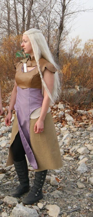 Daenerys costume full length