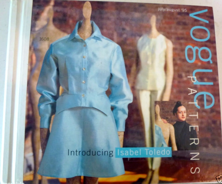 Introducing Isabel Toledo - Vogue Patterns catalogue July/August 1995