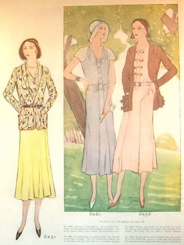 1930s Vionnet illustration in McCall magazine