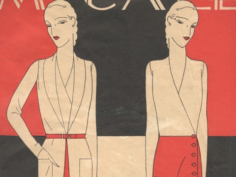 McCall Style News March 1931 detail