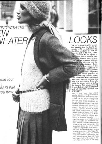 Beverly Johnson in Vogue, July 1973. Photo: Bob Stone. Image via Youthquaker.