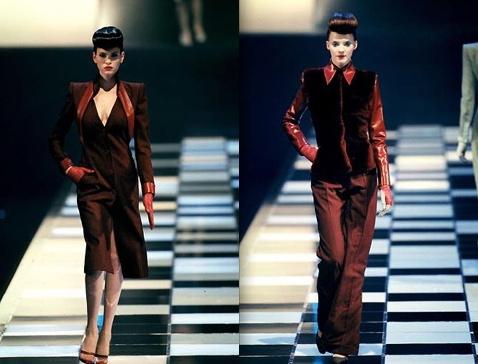 Givenchy FW1998 Frankie Rayder and Sunniva Stordahl