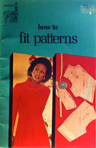 How to fit patterns Singer 1974