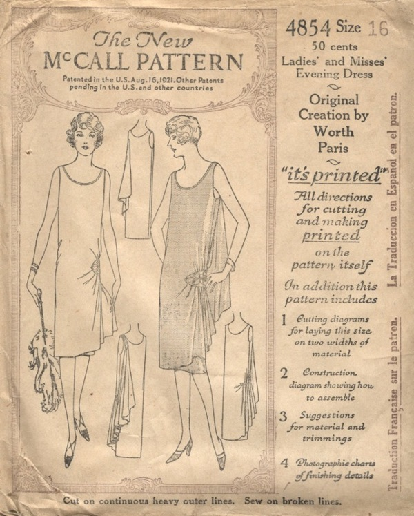 Clash Of The Titans Goddess Gowns PatternVault Enchanting 1920s Dress Patterns