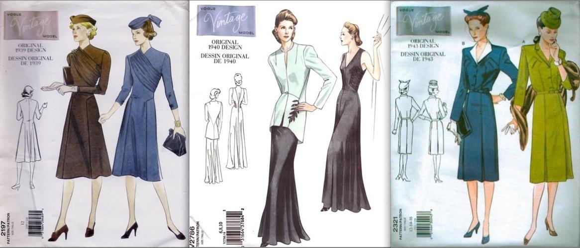 Vintage Vogue PatternVault Custom Vintage Vogue Patterns