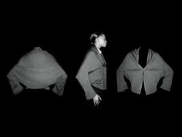 Yohji Yamamoto top - 3 views