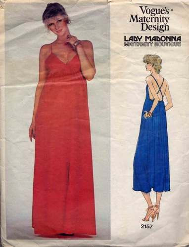 1970s Lady Madonna pattern - Vogue 2157