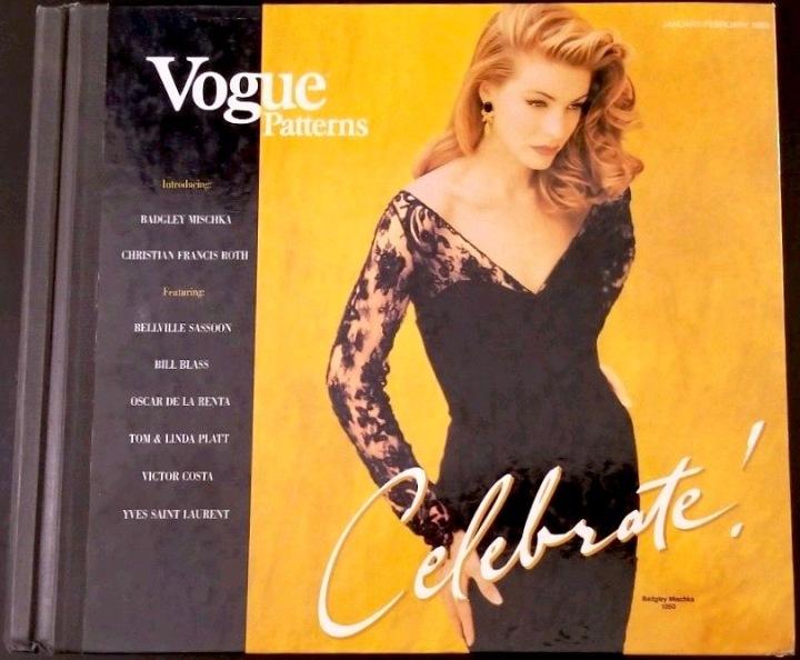 Vogue 1050 by Badgley Mischka, Vogue Patterns retail catalogue, January-February 1993