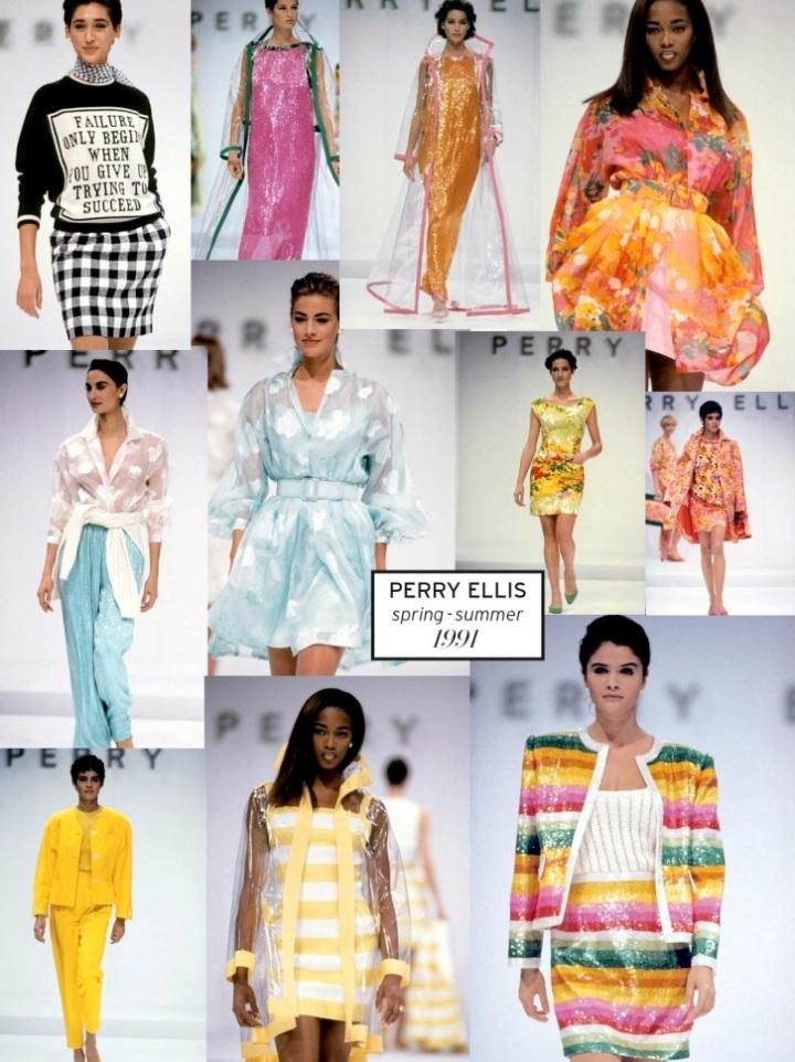 Marc Jacobs for Perry Ellis, SS 1991 - L'Officiel 1000 modèles no. 4, 2012
