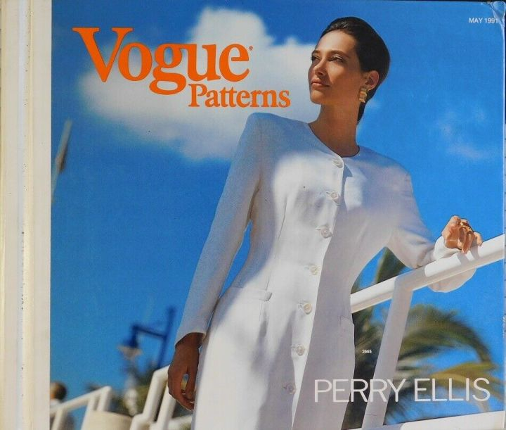 Vogue 2665 by Marc Jacobs for Perry Ellis, Vogue Patterns catalogue, May 1991