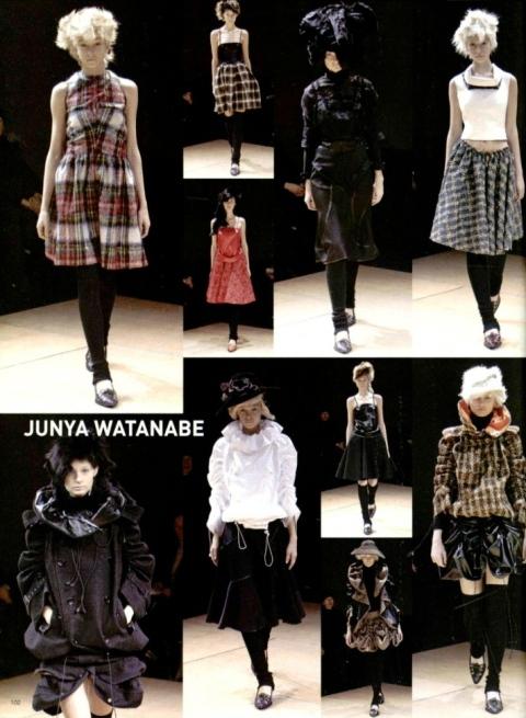 Junya Watanabe FW 2005 women's RTW - L'Officiel 1000 modèles